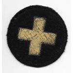 WWII - Occupation Period 33rd Division German Made Bullion Patch