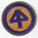 Pre-WWII 44th Division Woolie Patch