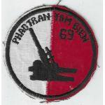 ARVN / South Vietnamese Army 69th Artillery Battalion Patch
