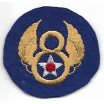WWII 8th Air Force English Made Patch