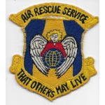 1950's-1960's US Air Force Air Rescue Service Japanese Made Squadron Patch