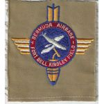 1947 Fort Bell Kindley Field Bermuda Airbase Patch