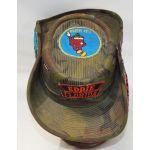 Vietnam Camo Novelty Al Capp Patched Cowboy Type Boonie Hat
