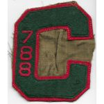 Pre-WWII CCC / Civilian Conservation Corps Camp 788 Patch