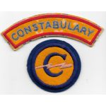 WWII - Occupation Constabulary Forces Patch & Tab Set