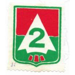 ARVN / South Vietnamese Army 2nd Division Patch