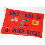 Vietnam Made 1099th Boat Company River Rats Personalized Flag