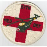 1950's 577th Medical Detachment Helicopter Chenille Pocket Patch