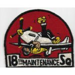 1950's US Air Force 18th Fighter Bomber Wing Lil Abner Maintenance Squadron Patch