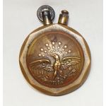 WWI Brass Patriotic Trench Art Lighter