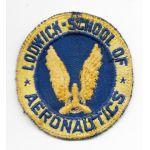 WWII Lodwick School Of Aeronautics CPT Patch