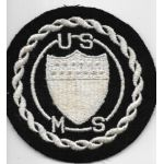 WWII US Maritime Service PX / Sweetheart Patch