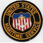 WWII US Maritime Service Sweetheart / PX Patch