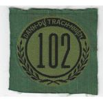 ARVN / South Vietnamese Army Nationalist Field Police 102nd District Patch