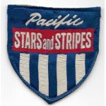 WWII - Occupation Pacific Stars And Stripes Japanese Silk Woven Patch