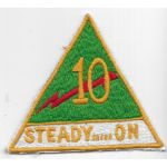 Philippine Army 10th Combat Team Patch