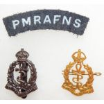 WWII Princess Mary's Nursing Service Royal Air Force Insignia Set