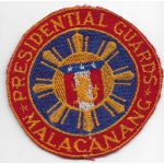 Late 1940's-50's Philippine Presidential Guards Patch