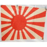 WWII Imperial Japanese Navy Cotton Rising Sun Flag
