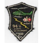 Vietnam 94th Avionics Signal Detachment Pocket Patch