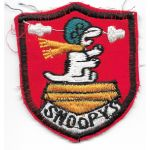 Vietnam 120th Aviation SNOOPYS Beret / Boonie Hat Patch