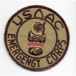 WWII US Auxiliary Ambulance Emergency Corps Patch