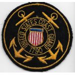 WWII US Coast Guard Sweetheart / PX Patch