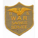 WWII US War Savings Service Patch