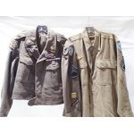 36th Infantry Division Ike Jacket and Shirt