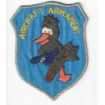 Vietnam 195th Aviation Company Armament Pocket Patch