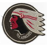 WWII AAF 345th Bomb Group AIR APACHES Squadron Patch