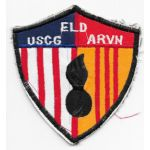 Vietnam US Coast Guard & ARVN EOD Patch