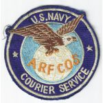 Vietnam Era US navy ARFCOS Navy Courier Service Squadron Patch