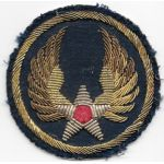 WWII AAF Headquarters German Made Bullion Patch