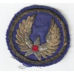WWII AAF Headquarters Italian Made Bullion Patch