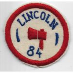 WWI 84th LINCOLN Division Patch