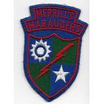 1940's Merrill's Marauders Patch