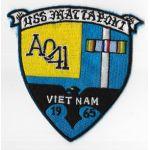 Vietnam US Navy AO-14 USS Mattaponi 1965 Vietnam Cruise Patch