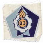 ARVN / South Vietnamese Army 83rd Ordnance Directorate Patch