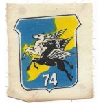 South Vietnamese Air Force 74th Tactical Fighter Wing Patch