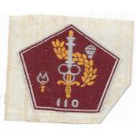 South Vietnamese Army 110th Airborne Quartermaster Directorate Patch