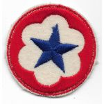WWII Army Service Forces Patch On Felt
