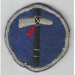 WWII 19th Corps Dark Blue Background French Made Patch