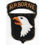 WWII 101st Airborne Division Used Patch