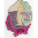 WWII - Occupation 674th Airborne Field Artillery Japanese Raw Silk Patch