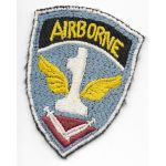 WWII - Occupation 1st Airborne Task Force Theatre Made Patch