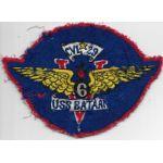 1950's US Navy CVL-29 USS Bataan V6 Division Squadron / Ships Patch