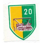 ARVN / South Vietnamese Army 20th Construction Battalion Patch