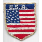 Vietnam Era US Flag Thai Made Patch