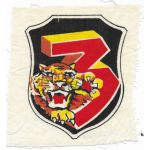 ARVN / South Vietnamese Army 3rd Infantry Regiment Patch